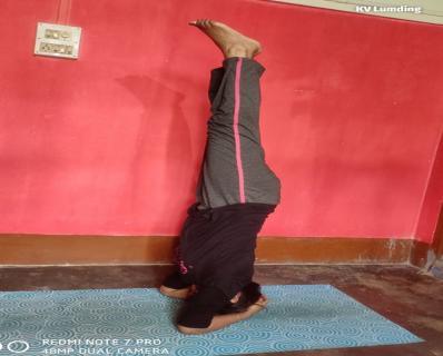 कार्यशाला | आंतरराष्ट्रीय योग दिवस | International Yoga Day 2020 - KV Lumding